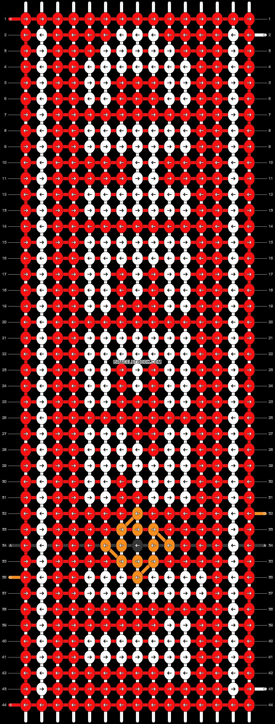 Alpha pattern #41052 pattern