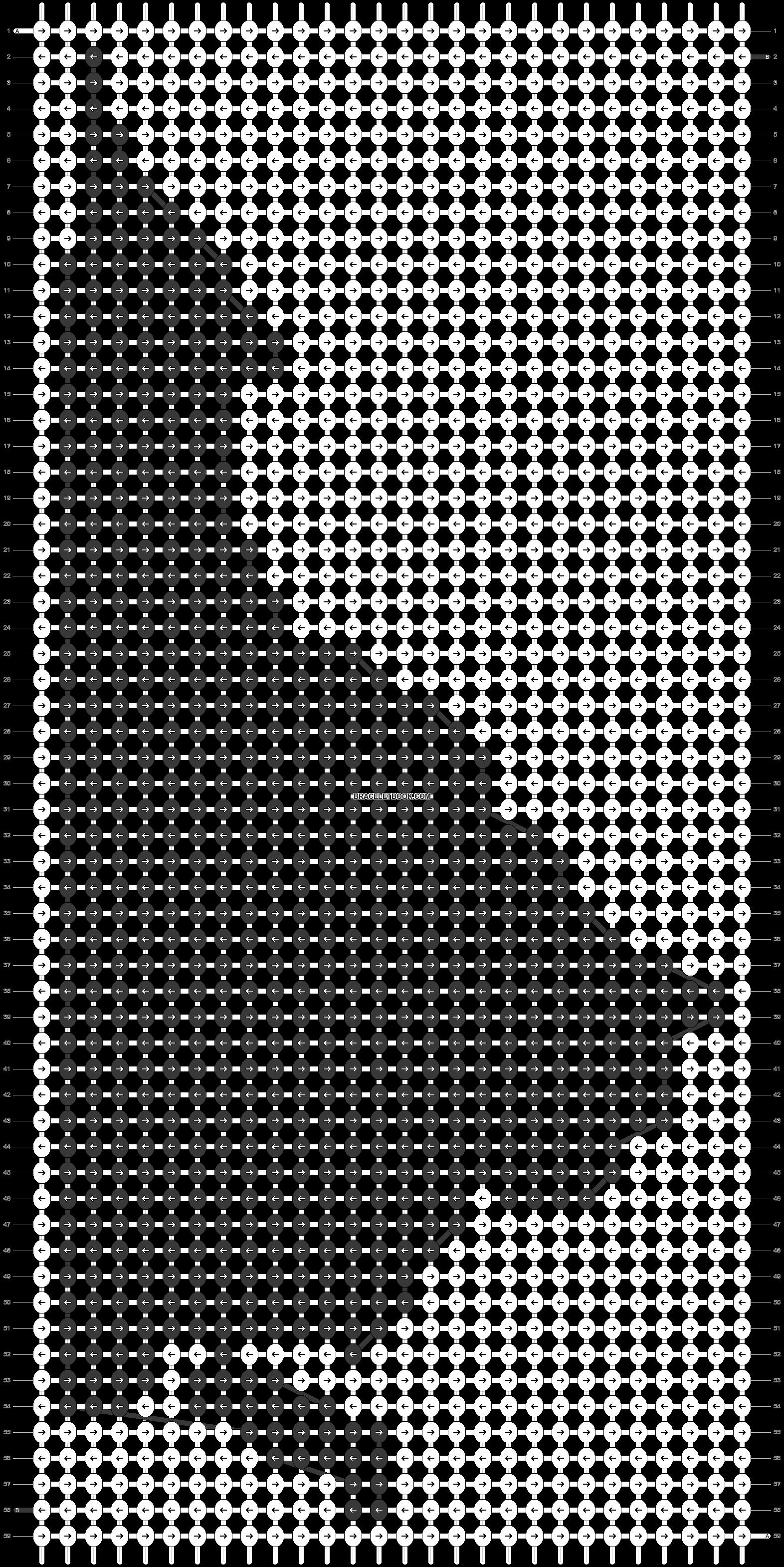 Alpha pattern #41067 pattern