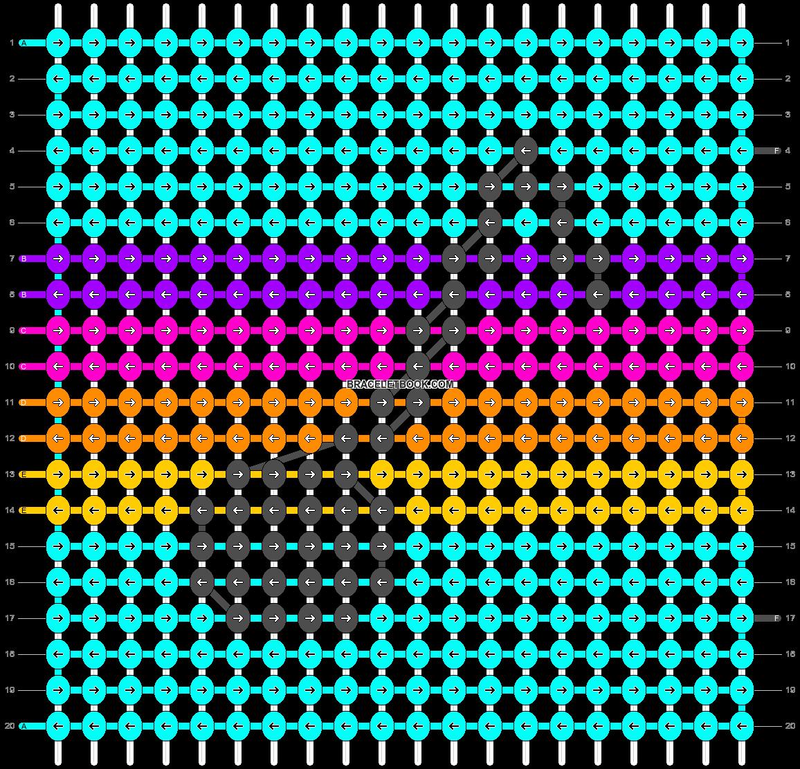Alpha pattern #41072 pattern