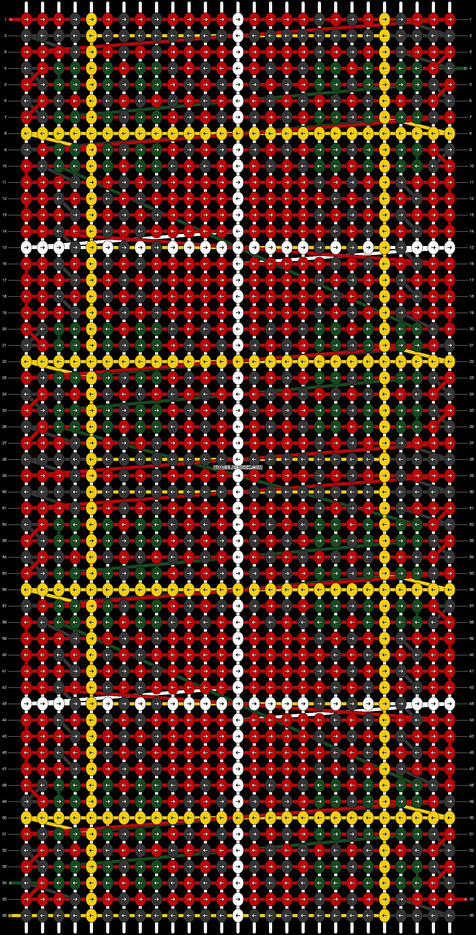 Alpha pattern #41076 pattern