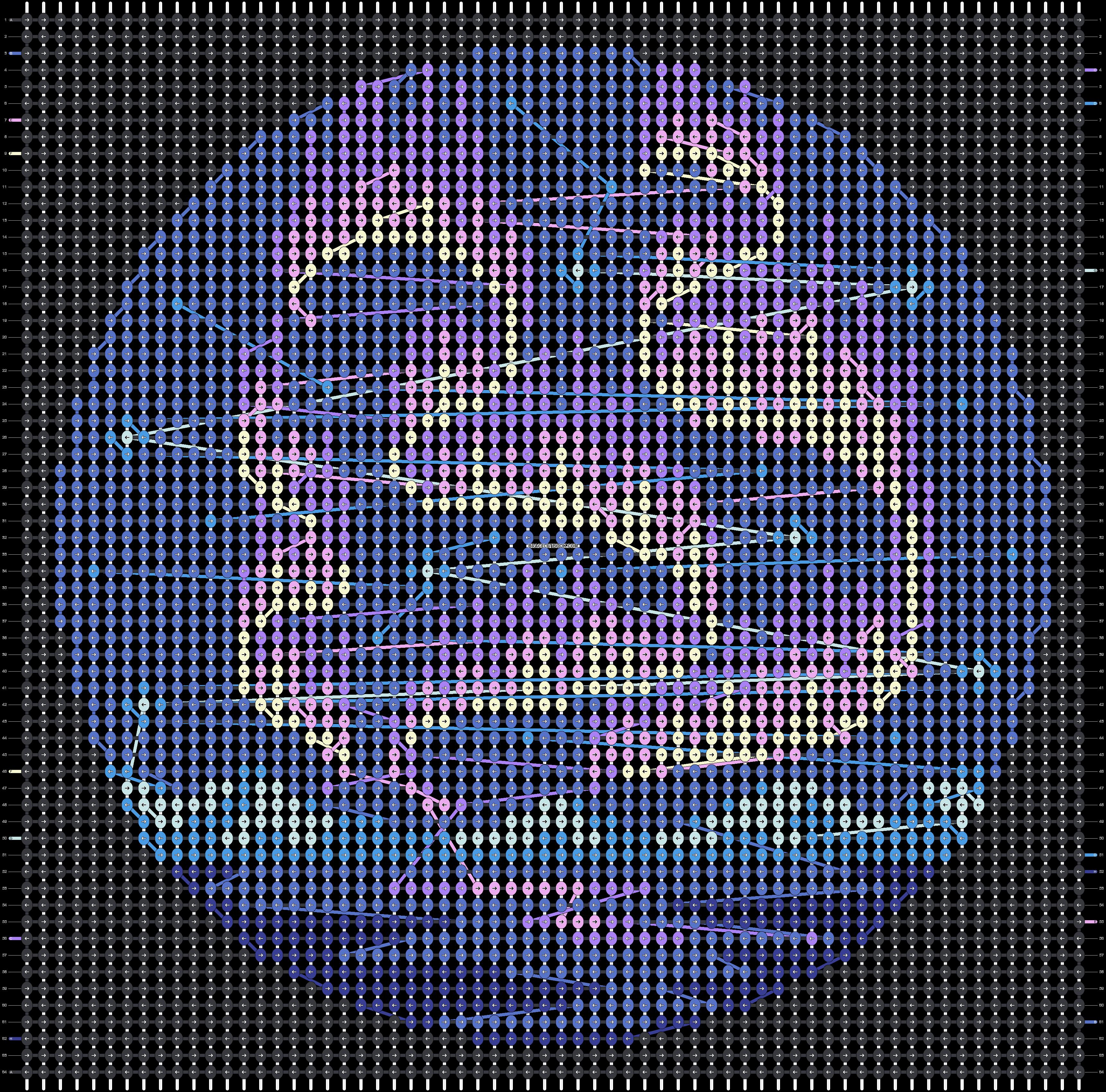 Alpha pattern #41093 pattern