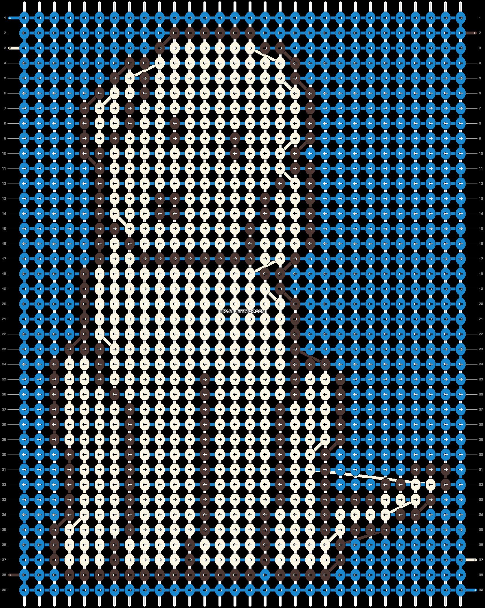 Alpha pattern #41100 pattern