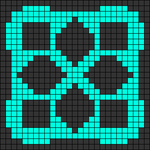 Alpha pattern #41106