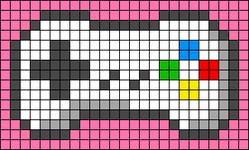 Alpha pattern #41115
