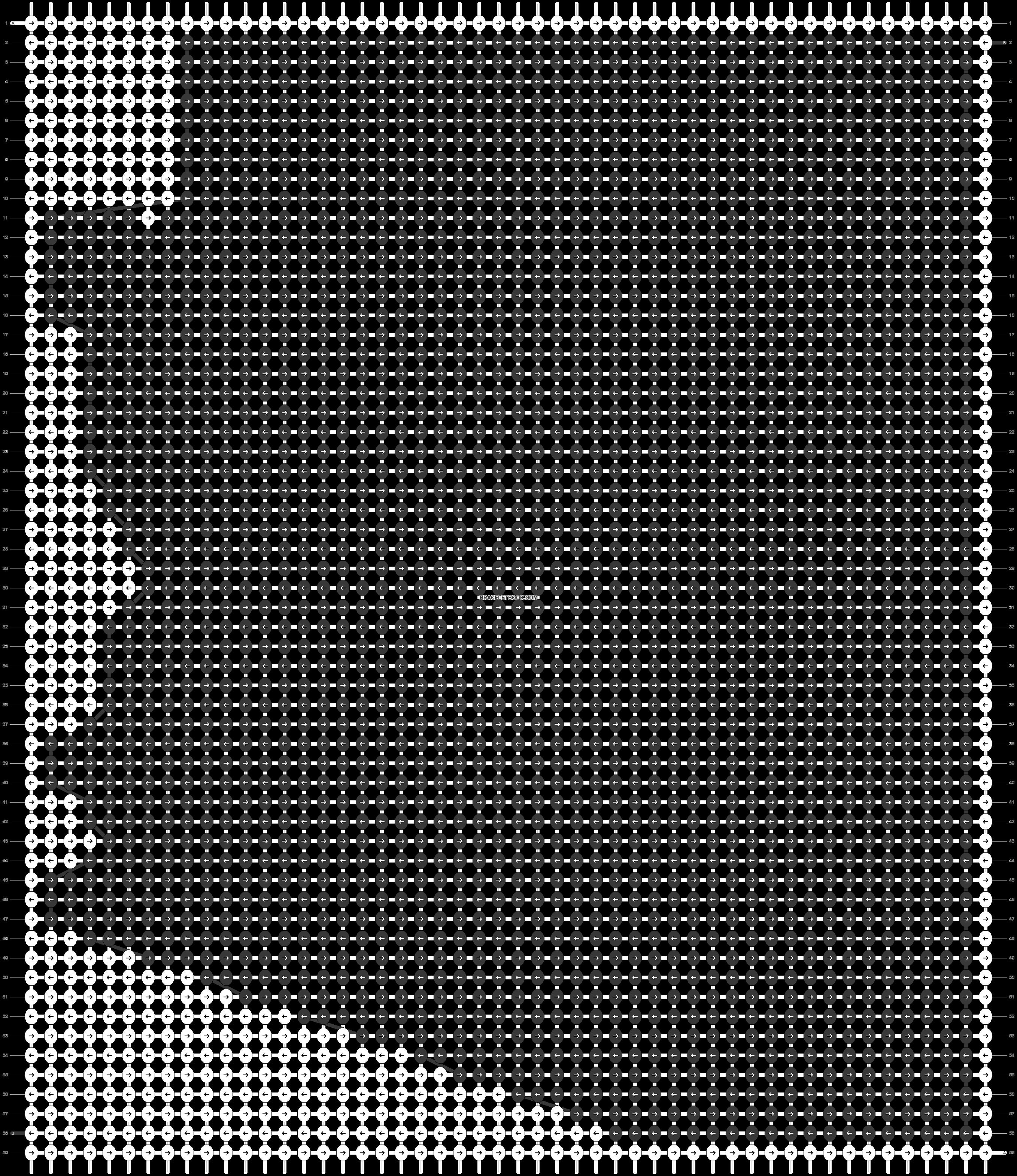 Alpha pattern #41119 pattern