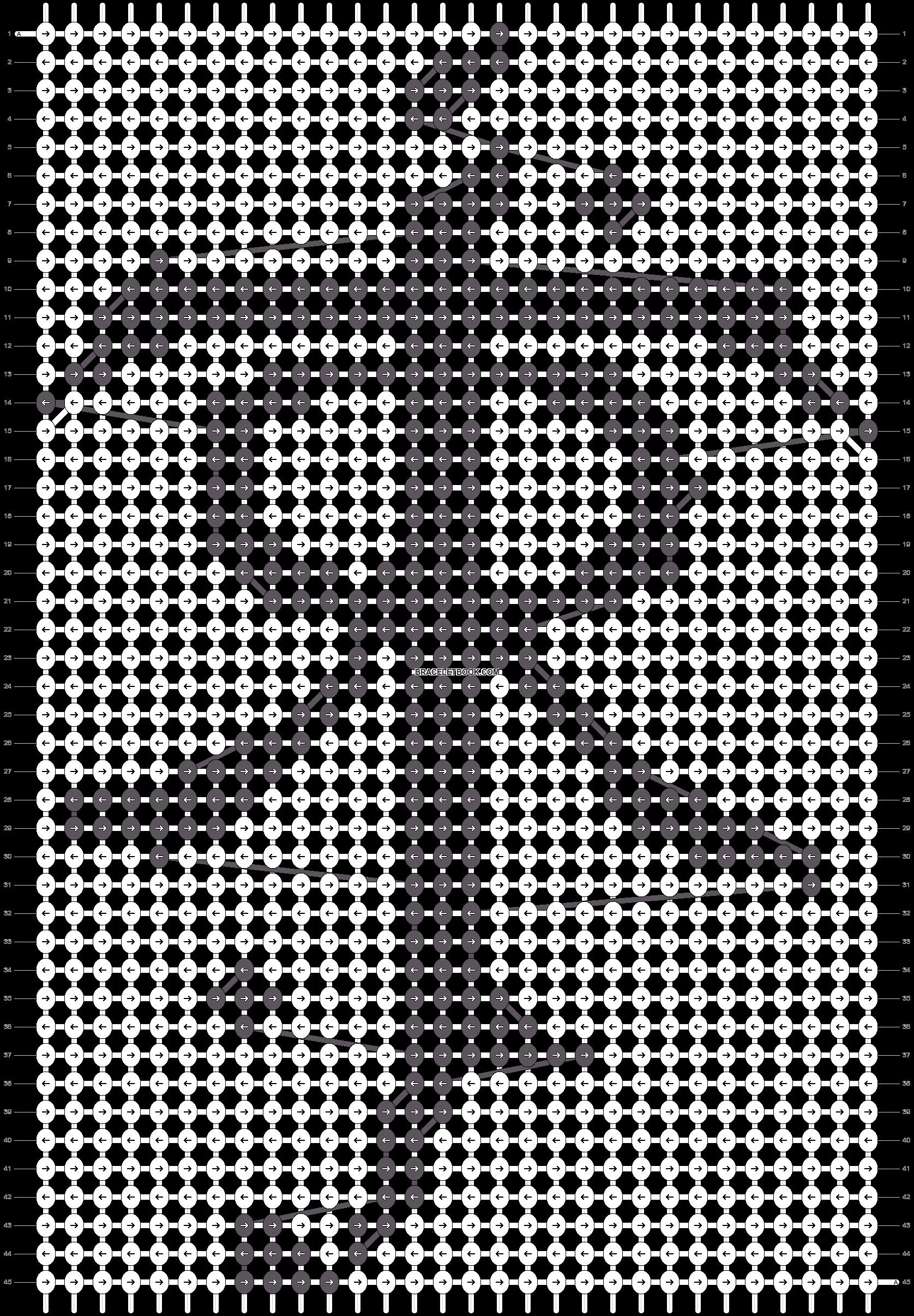 Alpha pattern #41123 pattern