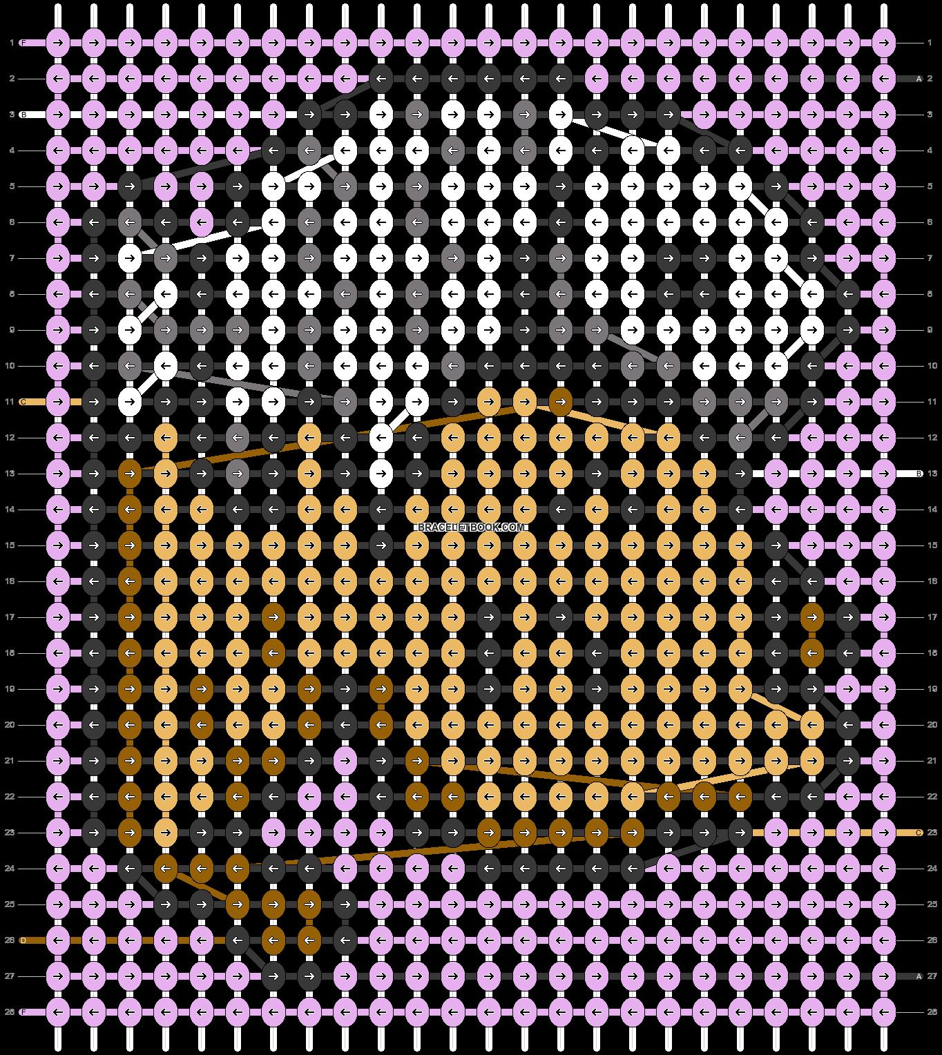Alpha pattern #41168 pattern