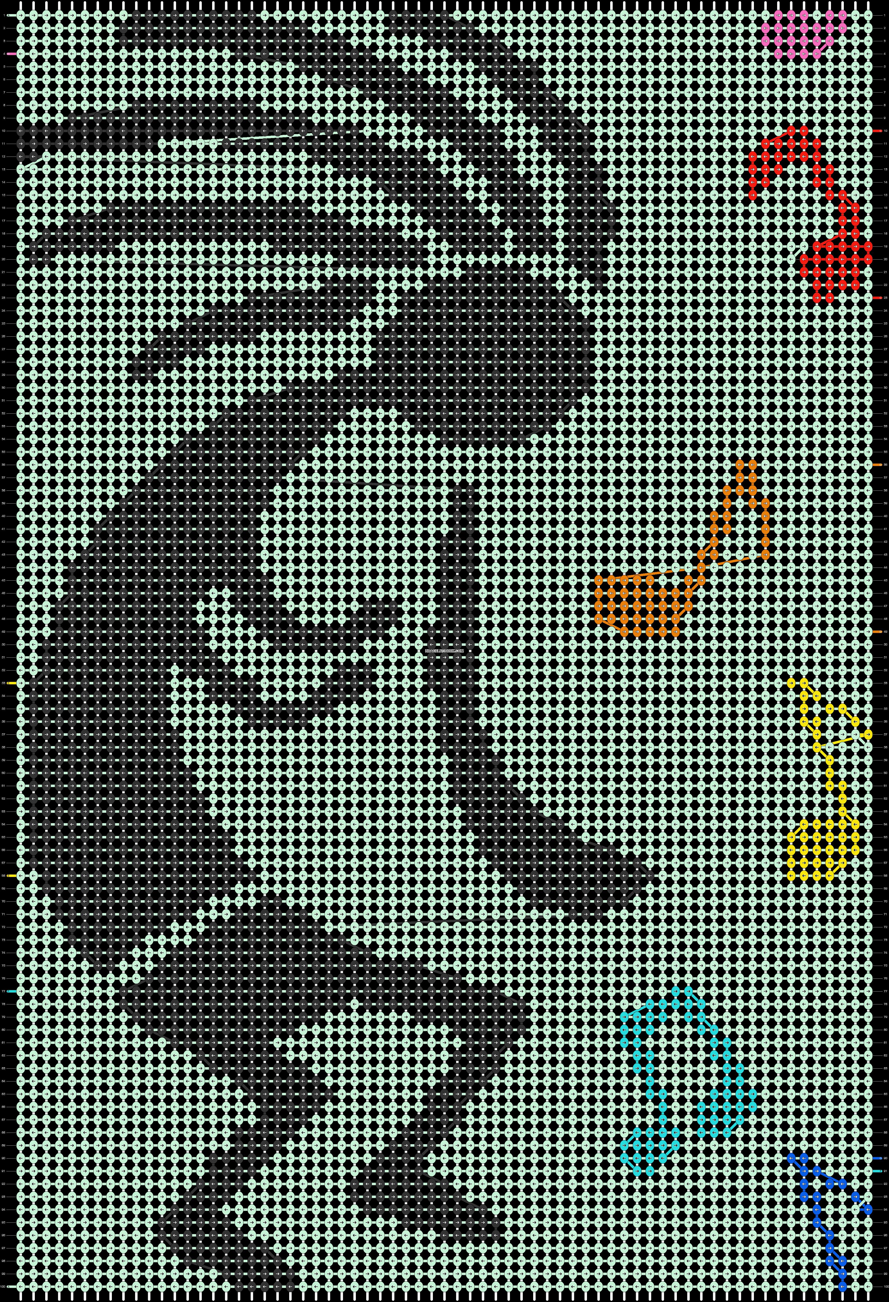 Alpha pattern #41191 pattern