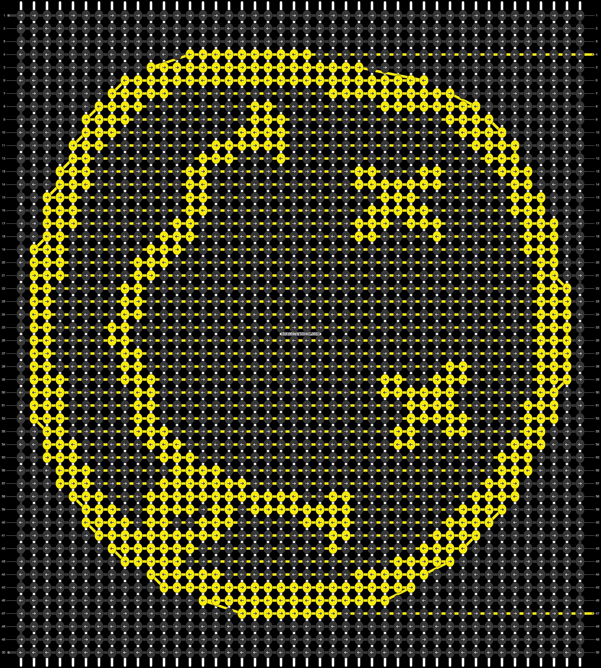 Alpha pattern #41209 pattern