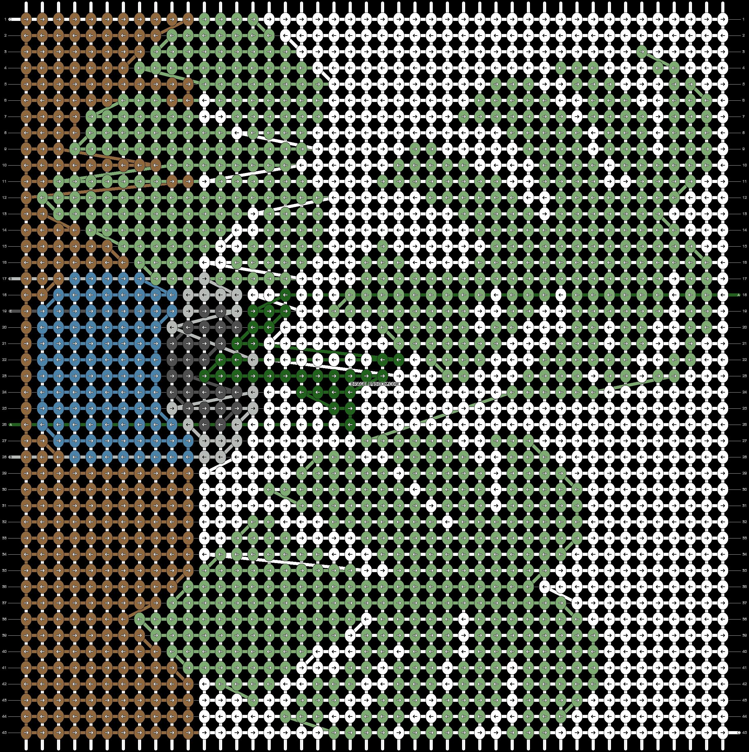 Alpha pattern #41221 pattern