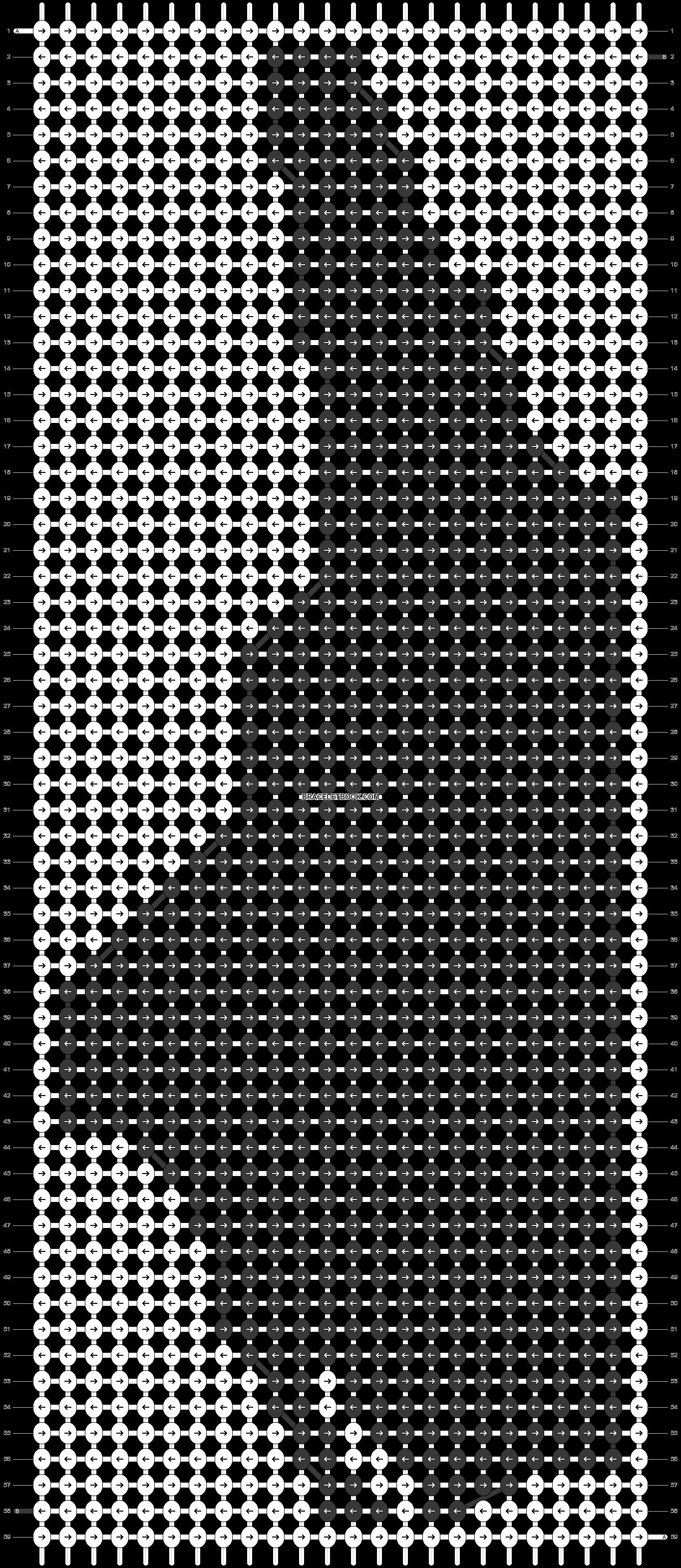 Alpha pattern #41247 pattern