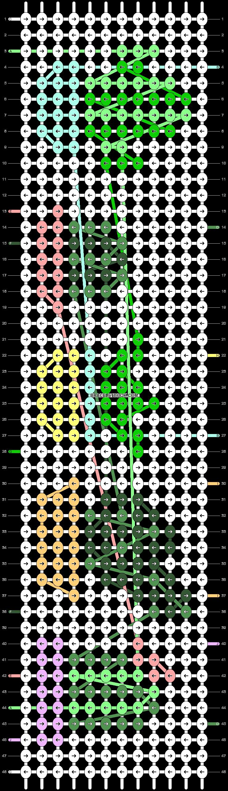 Alpha pattern #41258 pattern
