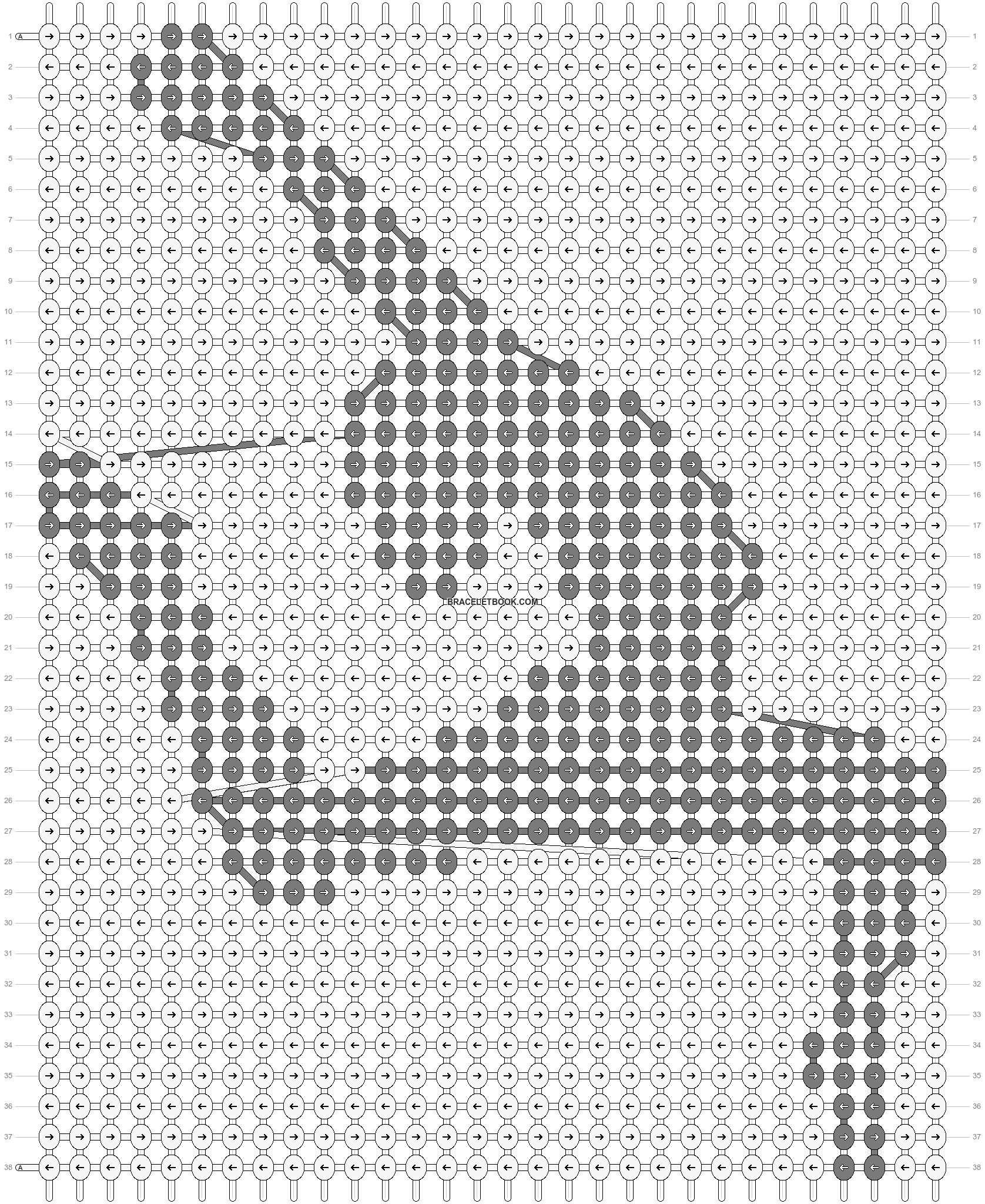 Alpha pattern #41270 pattern