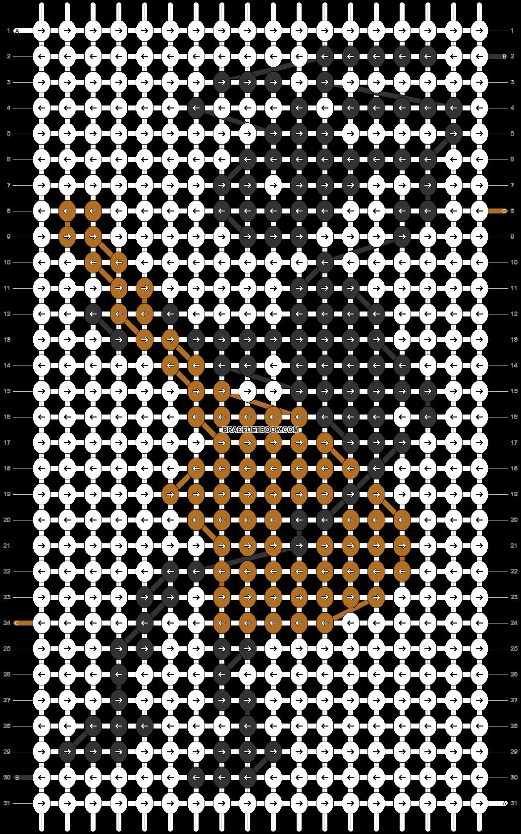 Alpha pattern #41287 pattern