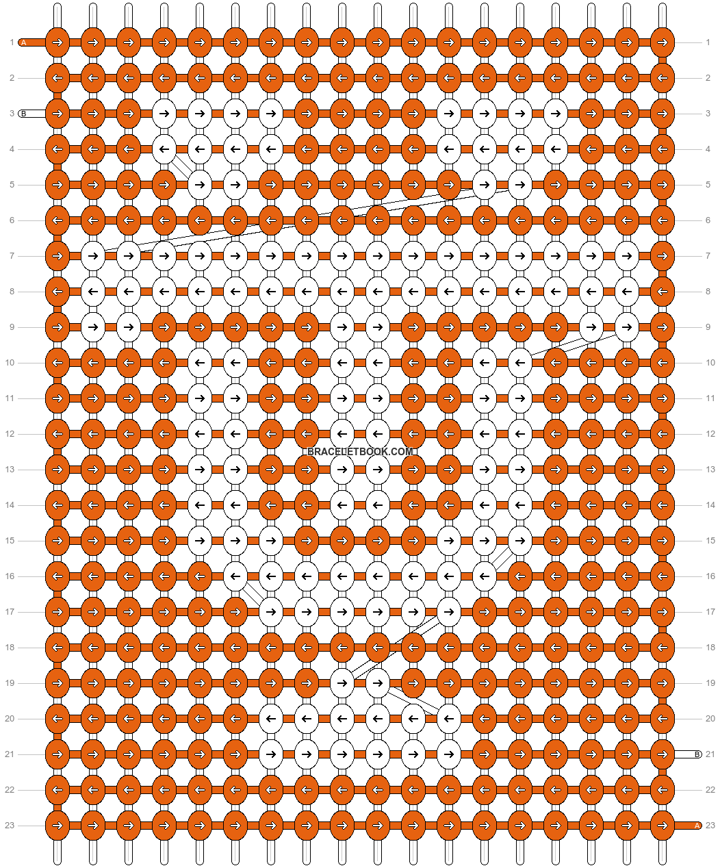 Alpha pattern #41294 pattern