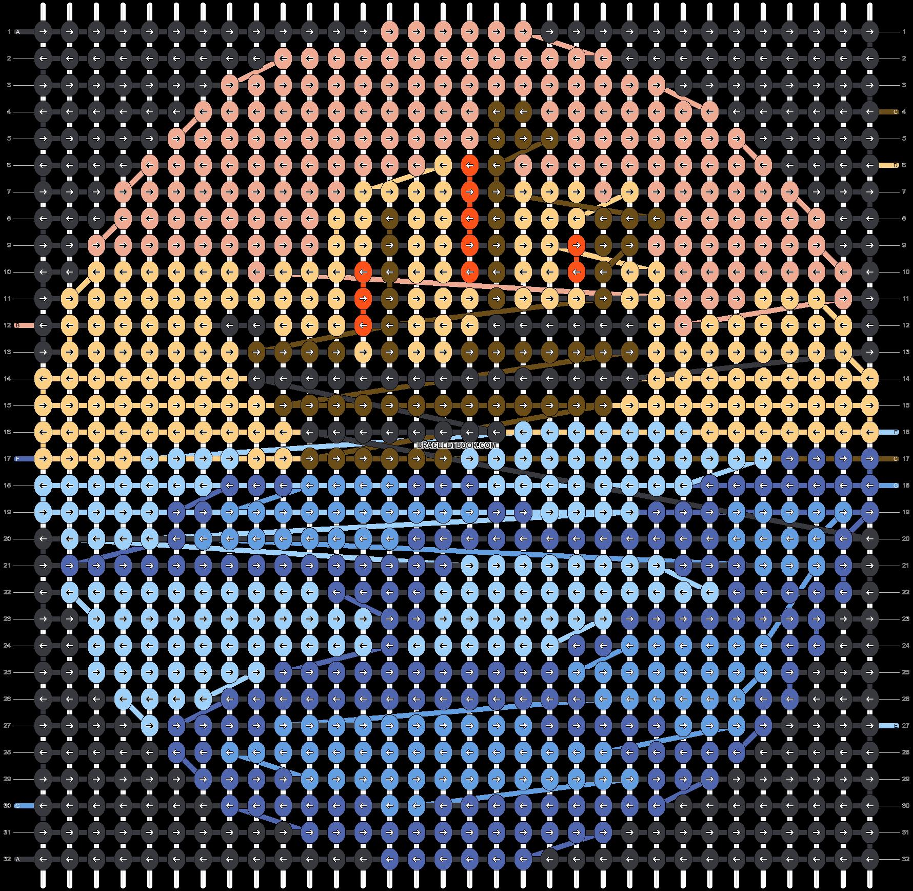 Alpha pattern #41327 pattern