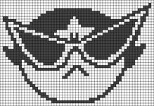 Alpha pattern #41350