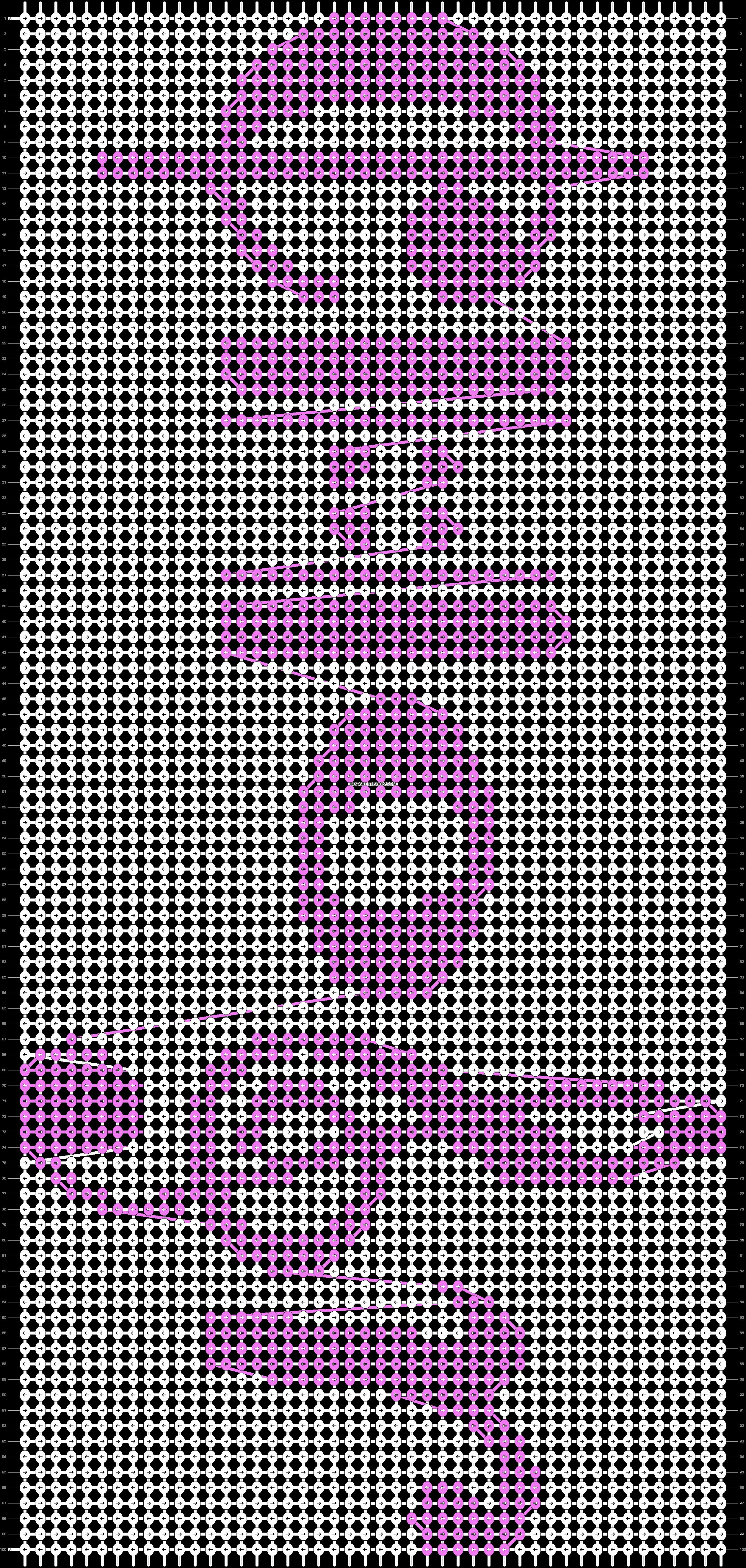 Alpha pattern #41355 pattern
