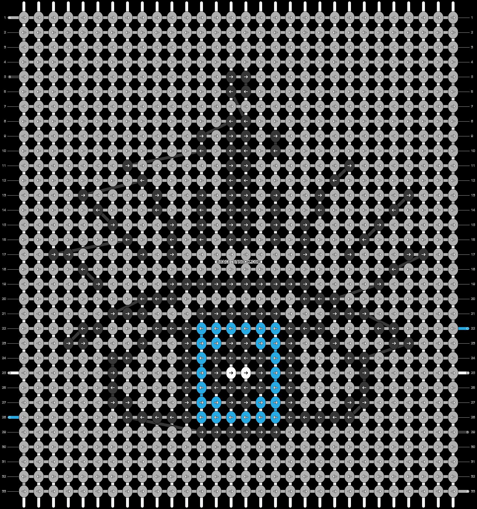 Alpha pattern #41356 pattern