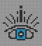 Alpha pattern #41356