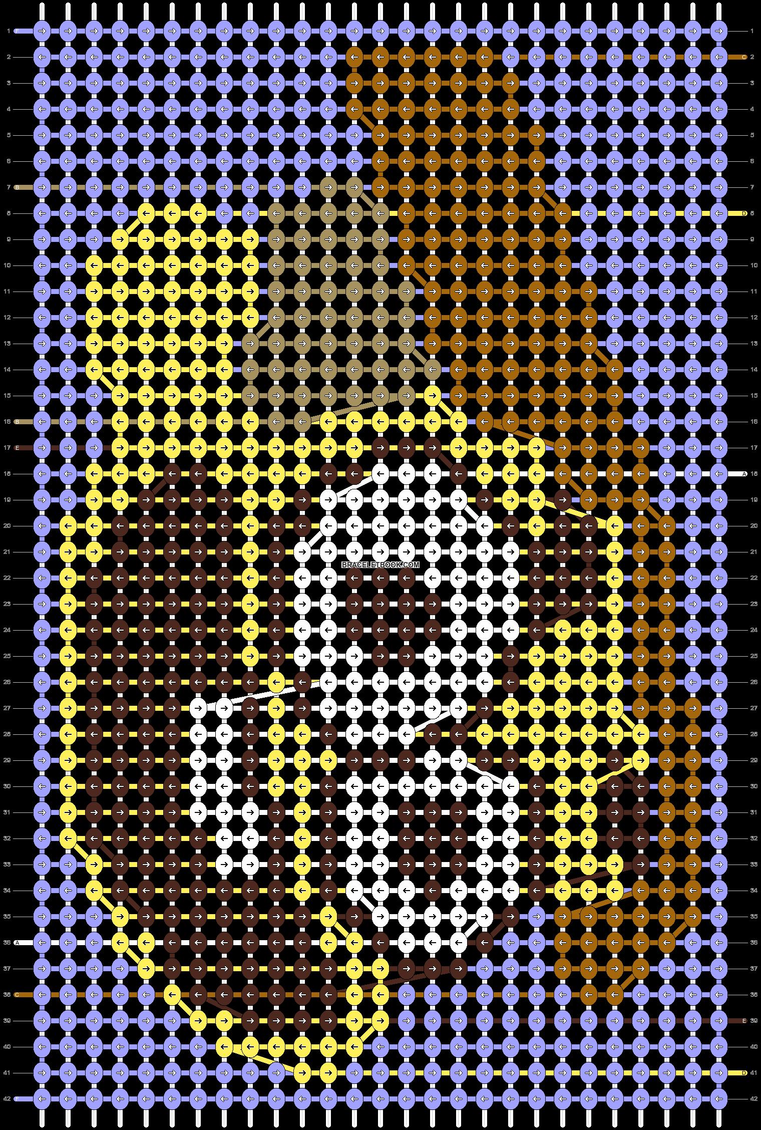 Alpha pattern #41364 pattern