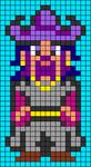 Alpha pattern #41370