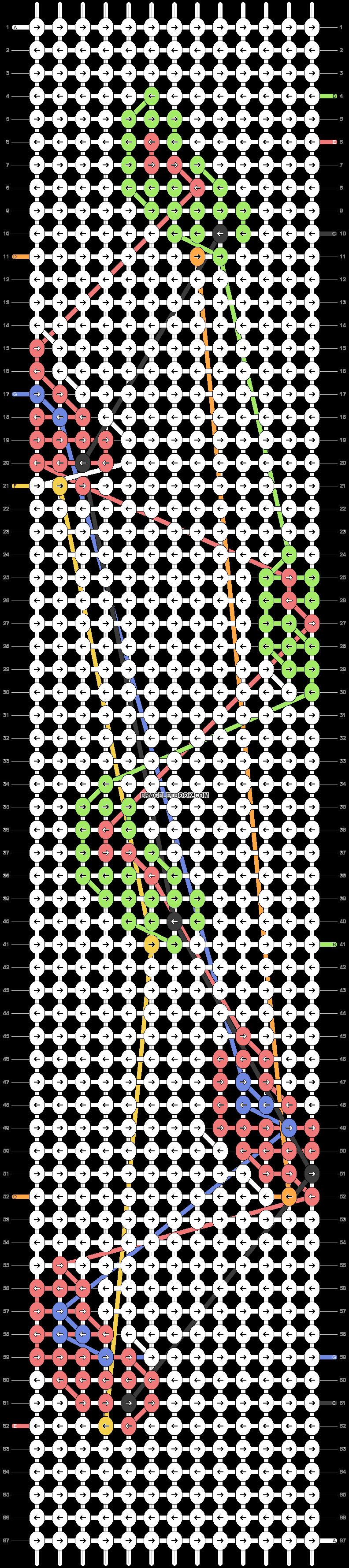 Alpha pattern #41389 pattern