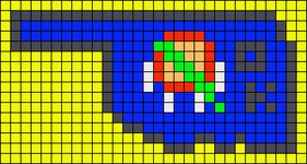 Alpha pattern #41413