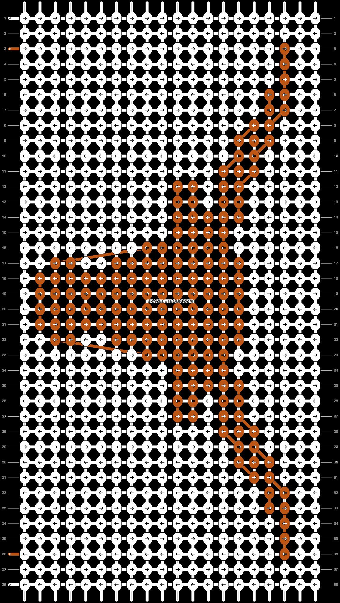 Alpha pattern #41419 pattern