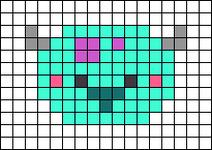 Alpha pattern #41425