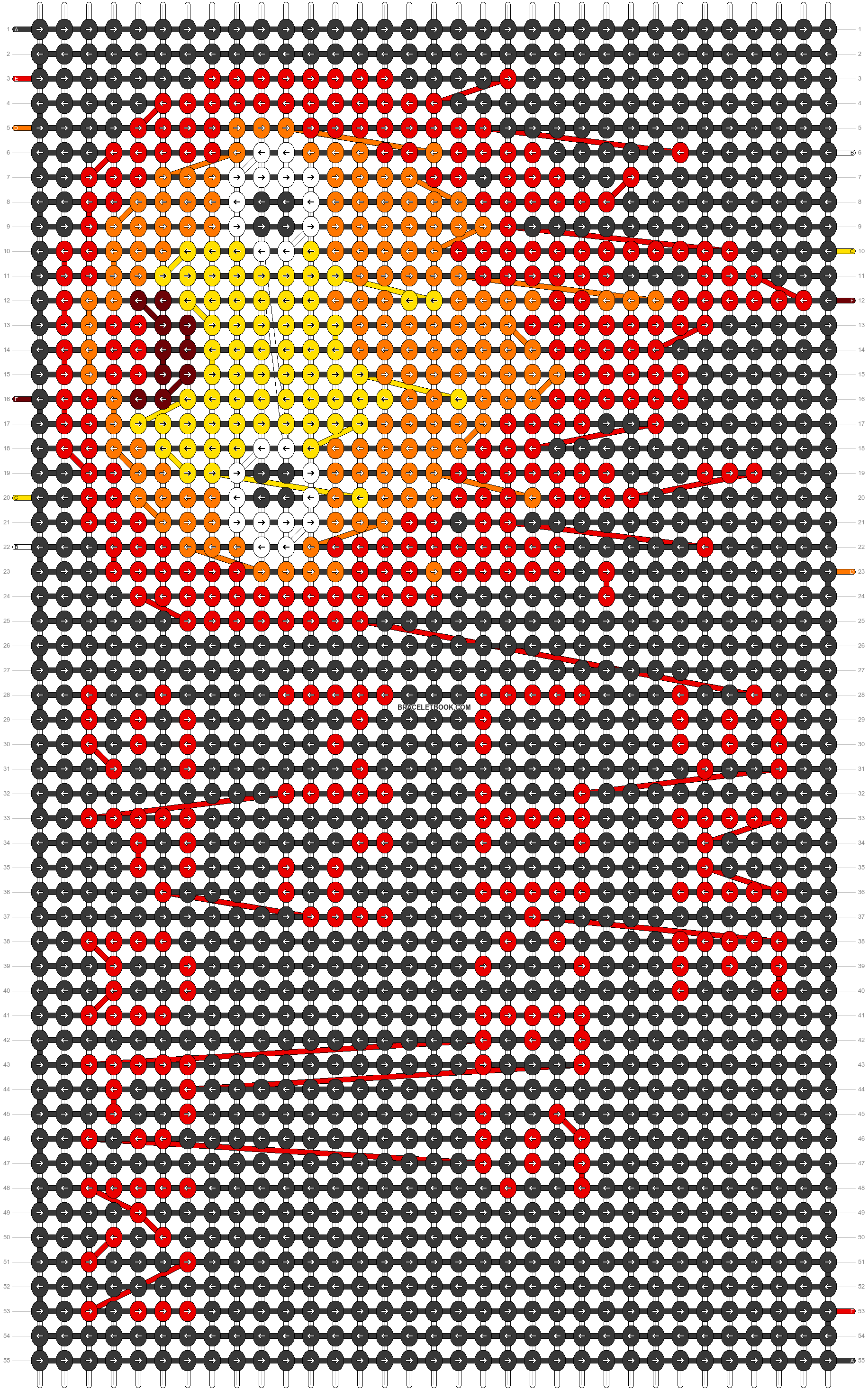 Alpha pattern #41427 pattern