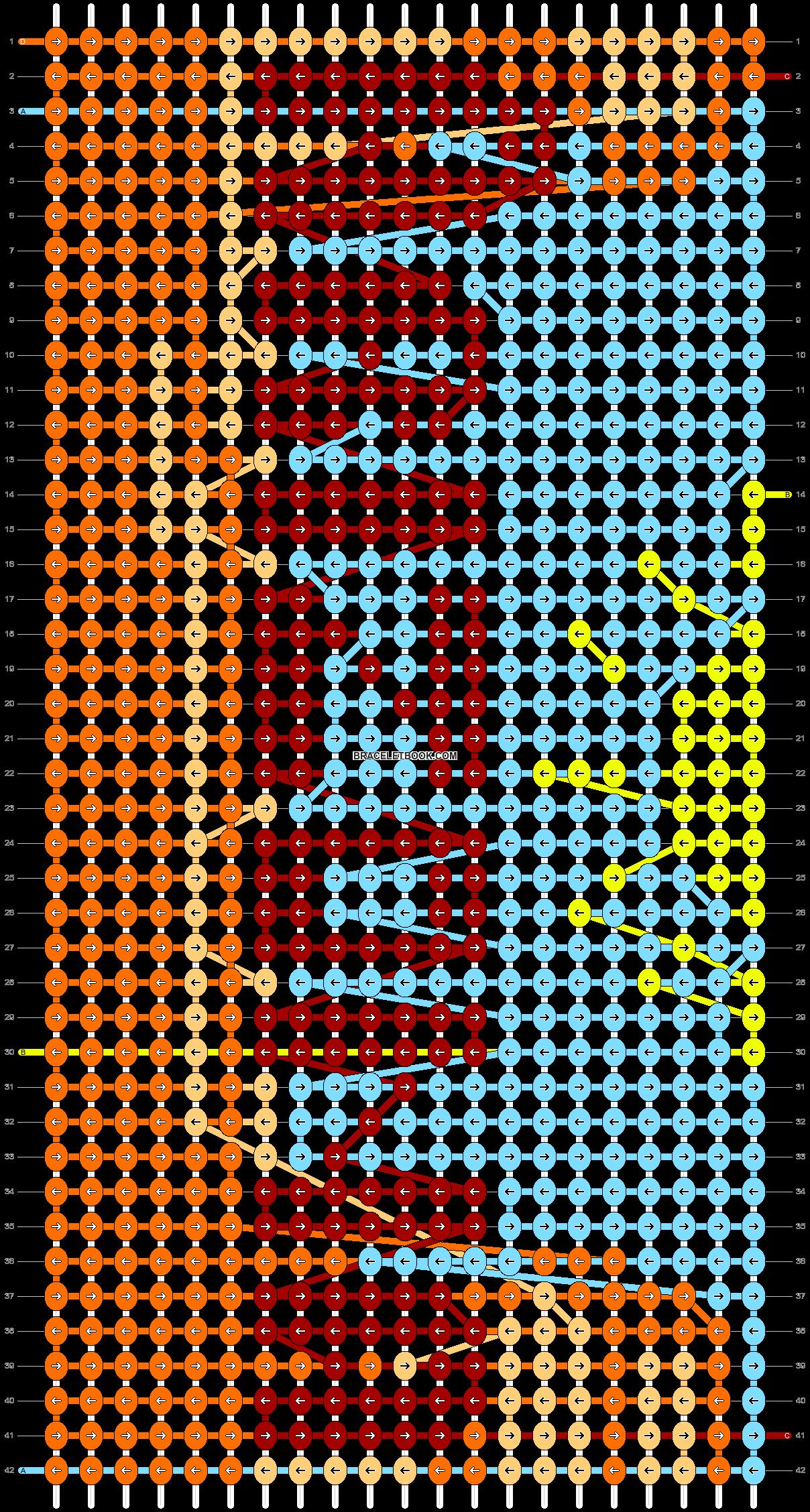 Alpha pattern #41440 pattern