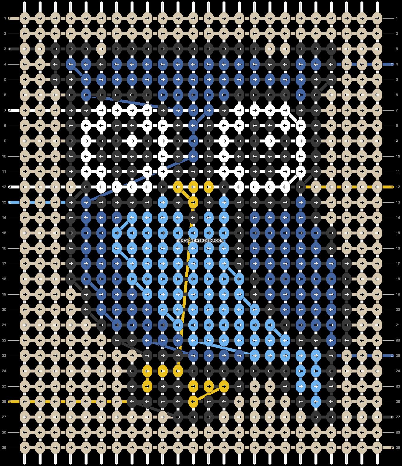 Alpha pattern #41448 pattern