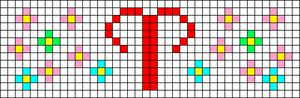 Alpha pattern #41490