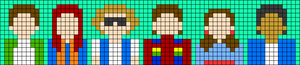 Alpha pattern #41494