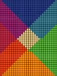 Alpha pattern #41500