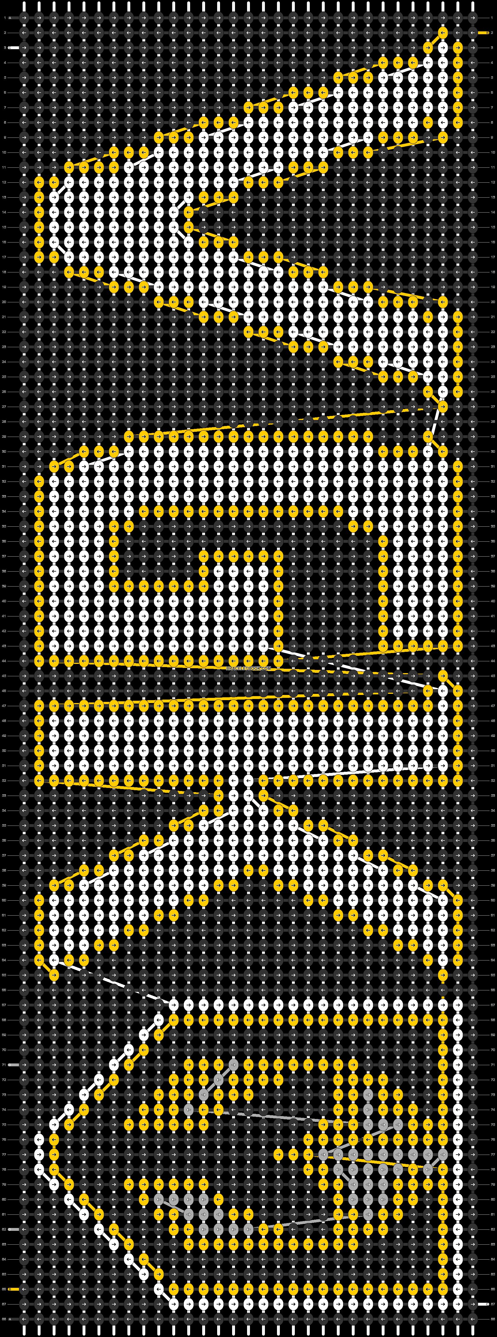 Alpha pattern #41521 pattern