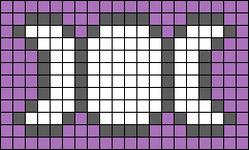 Alpha pattern #41526