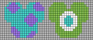 Alpha pattern #41531