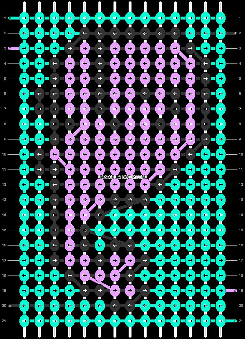 Alpha pattern #41534 pattern