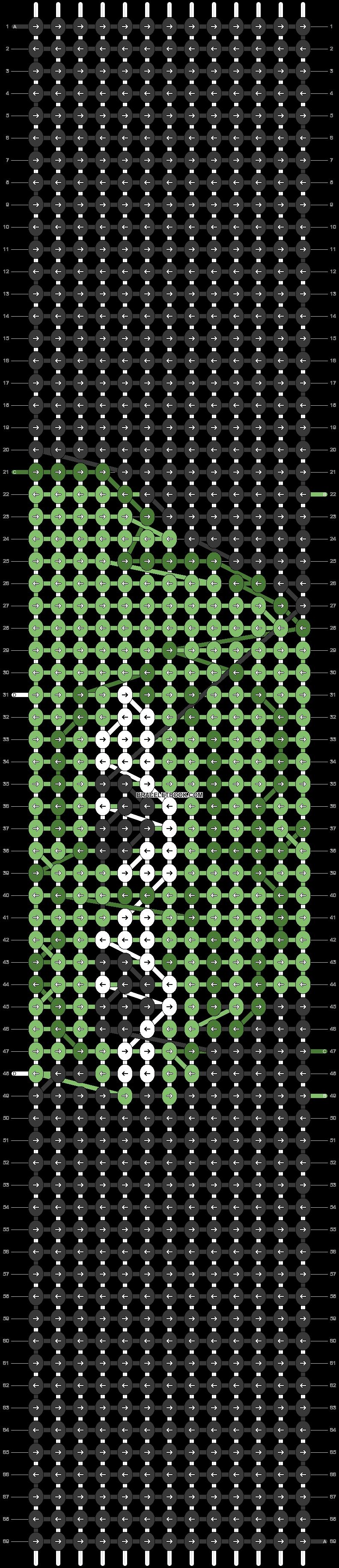 Alpha pattern #41537 pattern