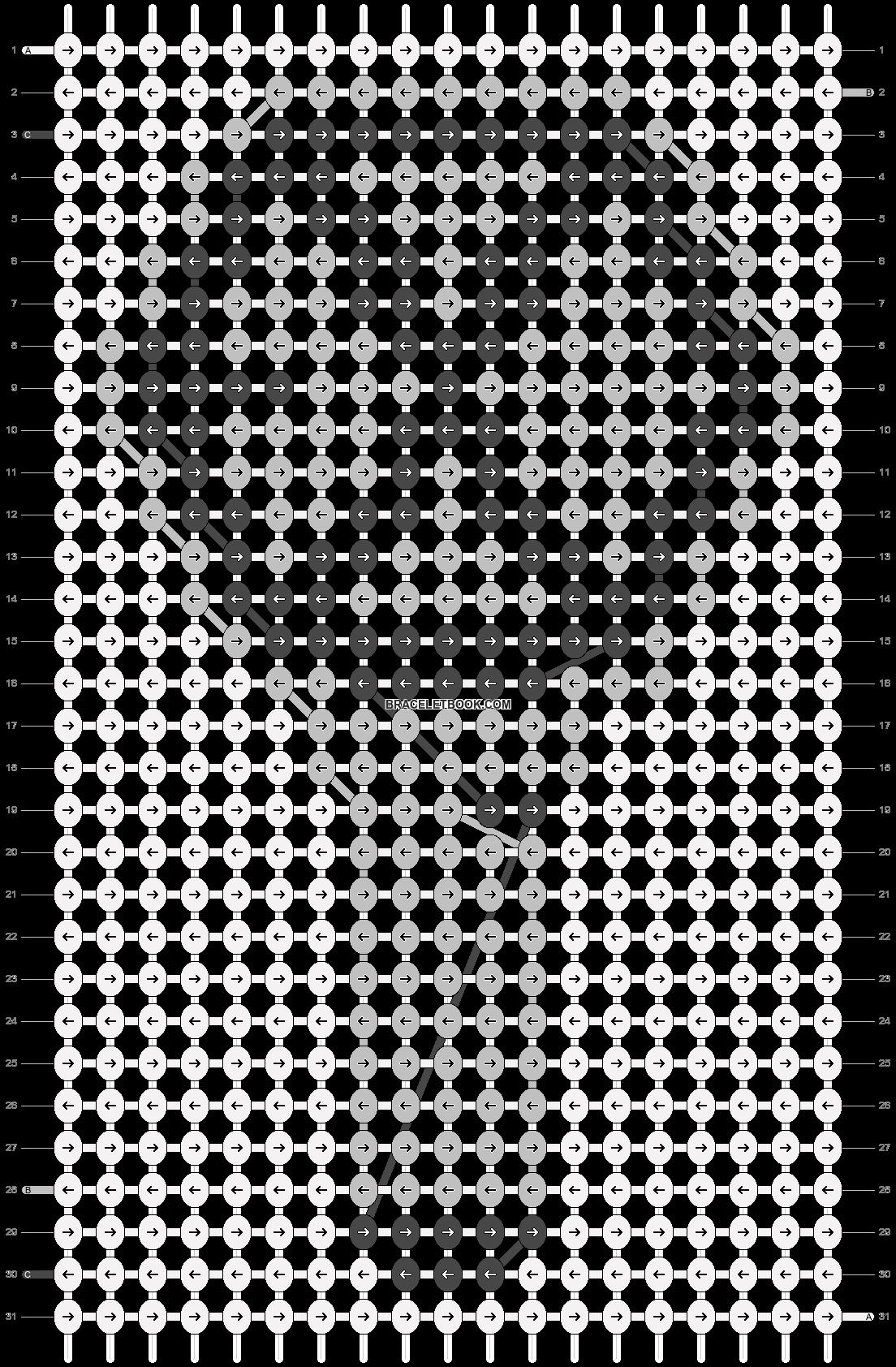 Alpha pattern #41563 pattern