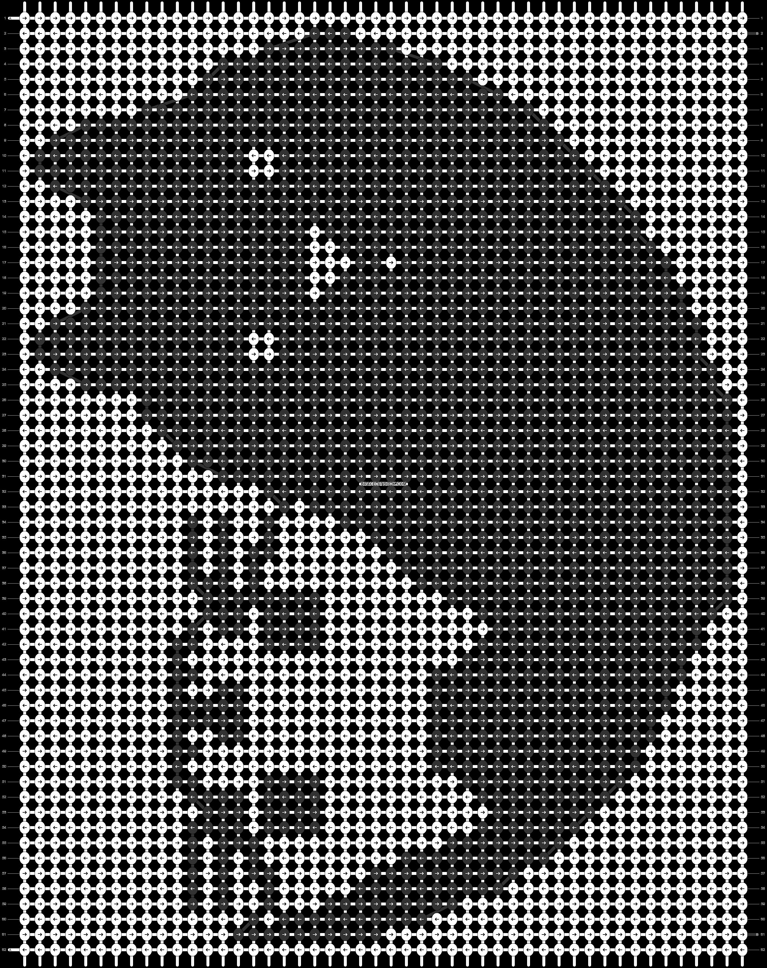 Alpha pattern #41567 pattern