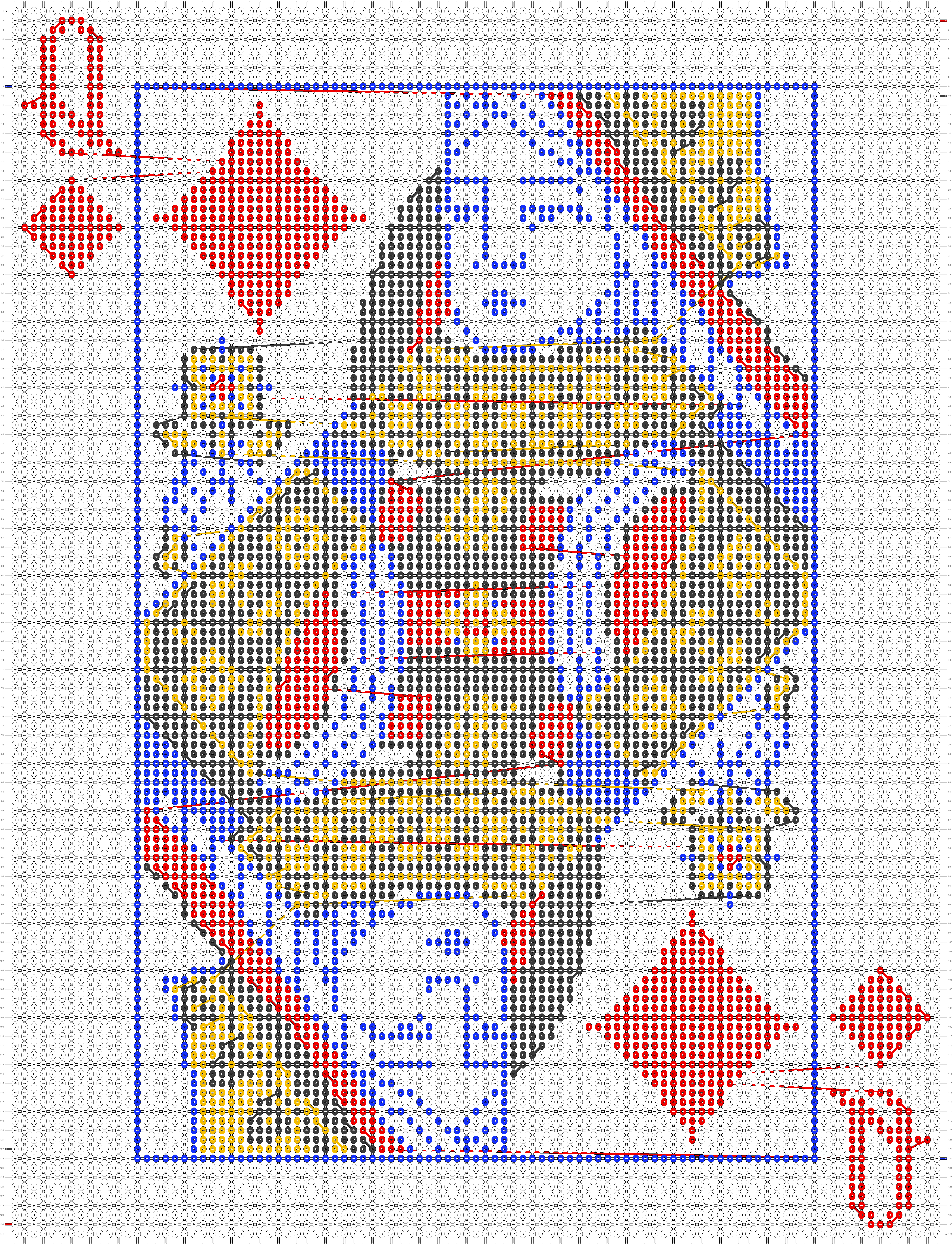 Alpha pattern #41583 pattern