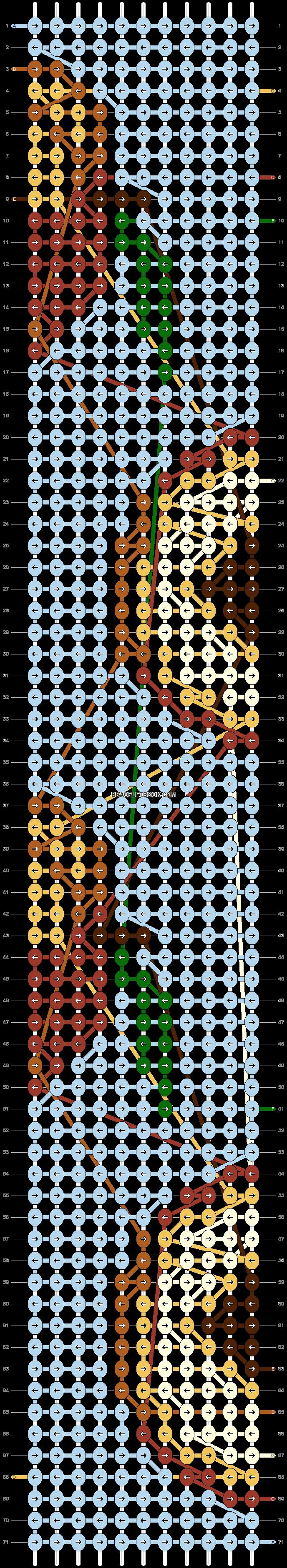 Alpha pattern #41584 pattern