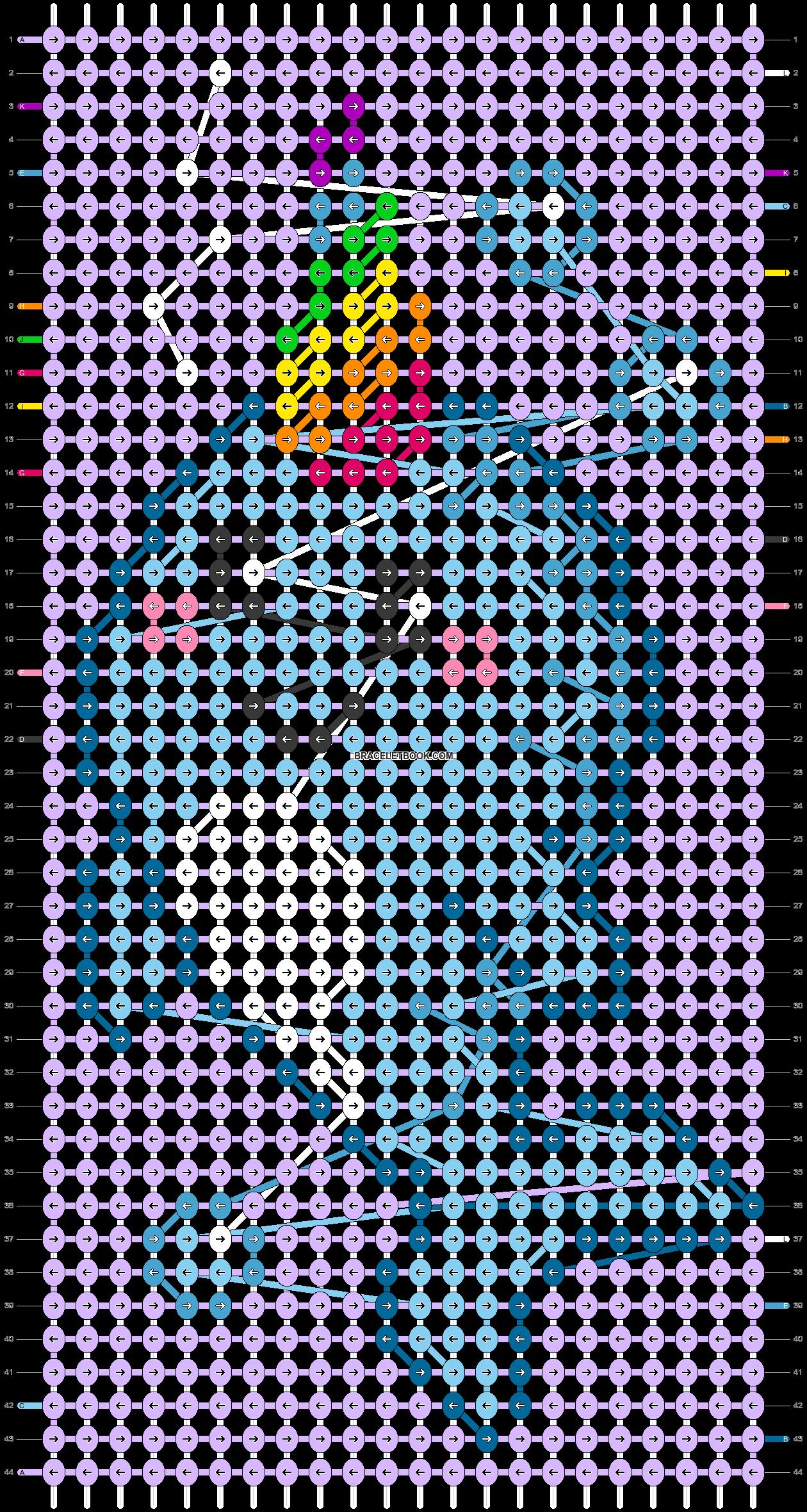 Alpha pattern #41593 pattern