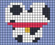 Alpha pattern #41606