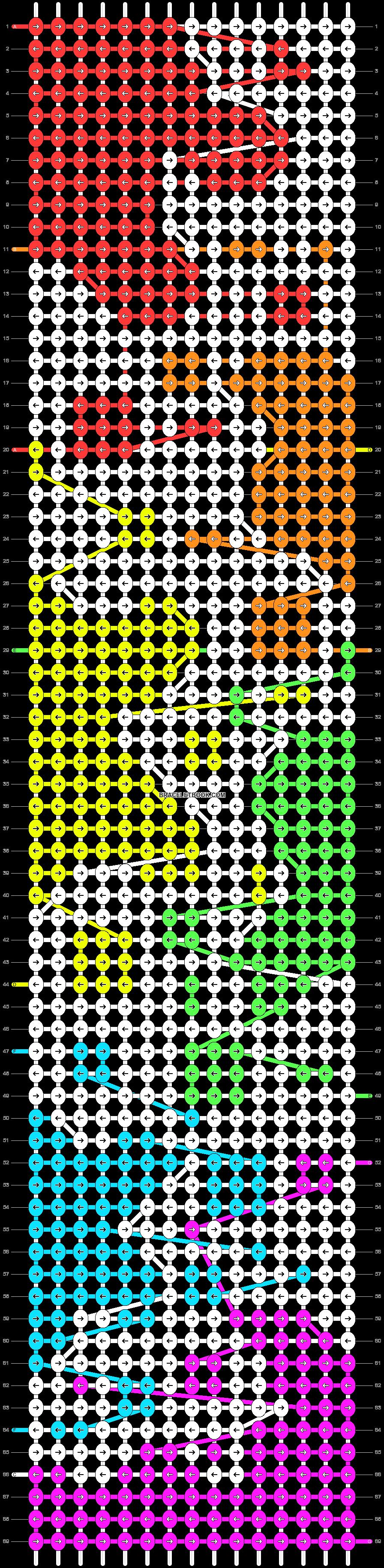 Alpha pattern #41620 pattern
