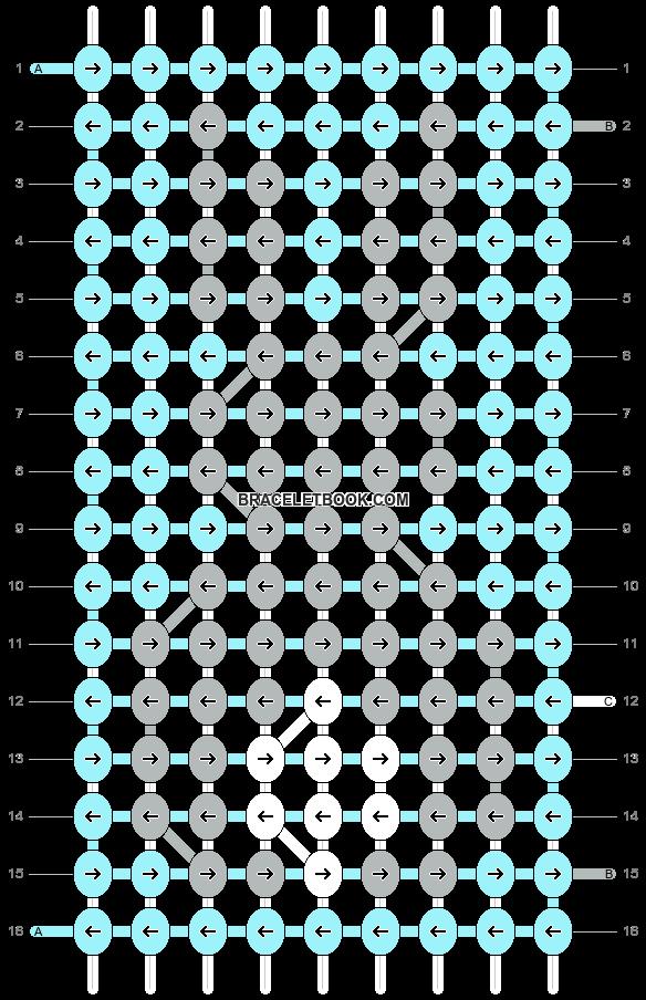 Alpha pattern #41647 pattern