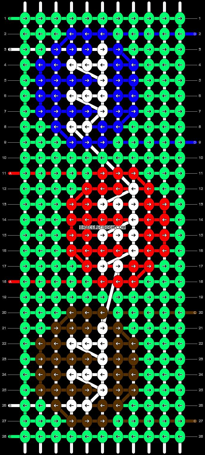 Alpha pattern #41650 pattern